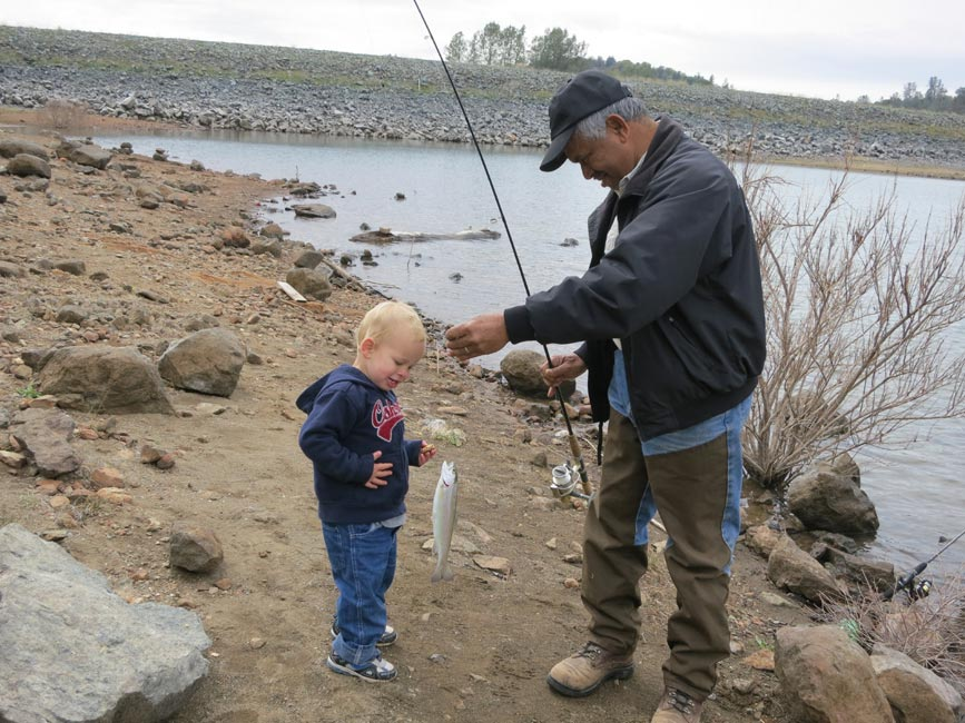 Collins lake trophy plant on 3 22 for Collins lake fishing report