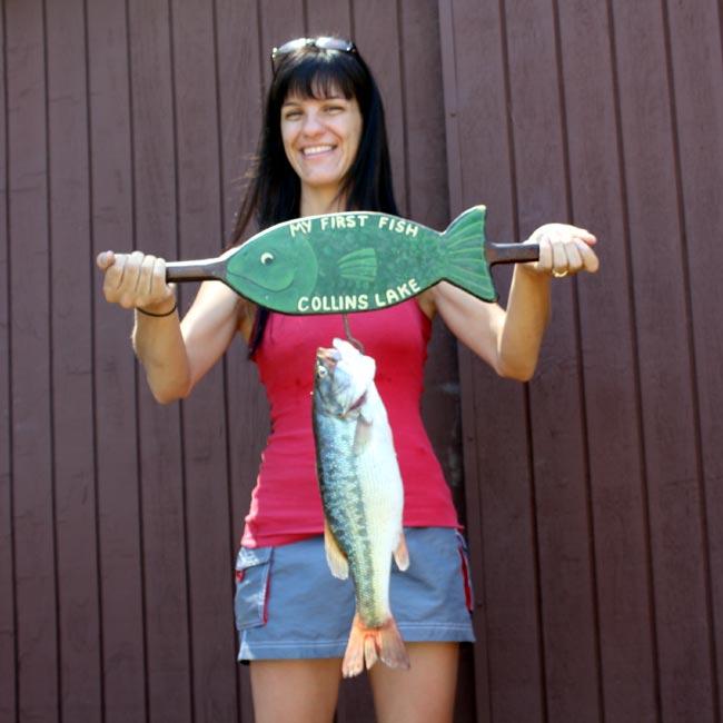 rachels-1st-fish