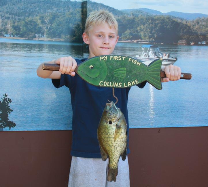 Collins lake catfish dominate this week for Collins lake fishing report
