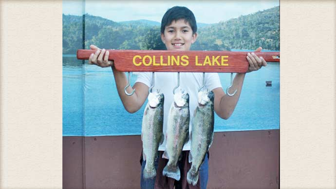 collins lake call us if you want to gift a 2013 fish