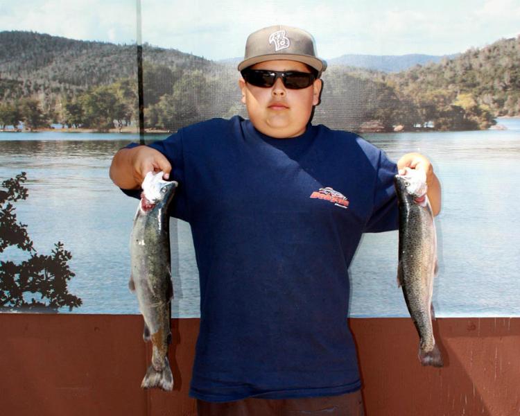 Collins lake spring has sprung for Lopez lake fishing