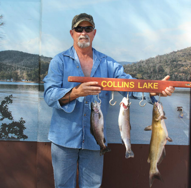 Collins lake 3rd week of double trout plants for Collins lake fishing report