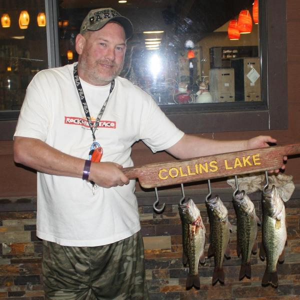 Collins lake five more trout plants by thanksgiving for Lake gregory fishing report