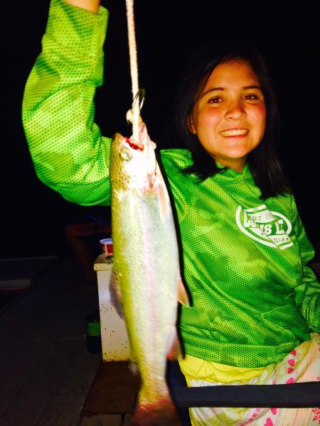 Jade Delgado 3 lb trout
