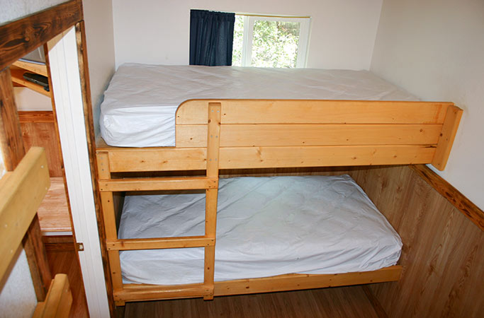 Bunks in Large Cabin