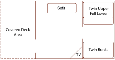 Large Cabin Floorplan