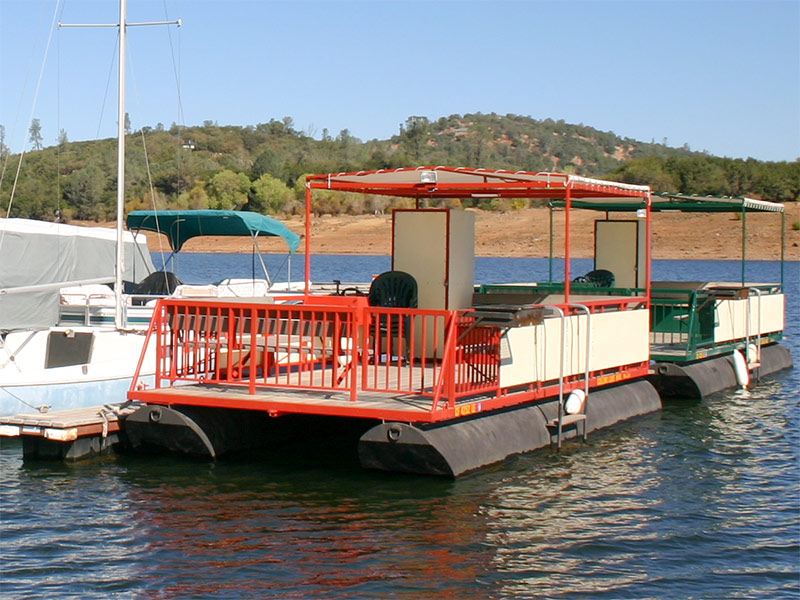 One Story Patio Boat